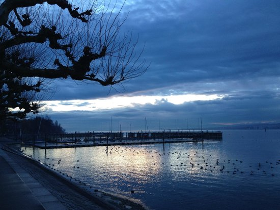 Riva: Beautiful Lake Konstanz - 50 paces from the Restaurant