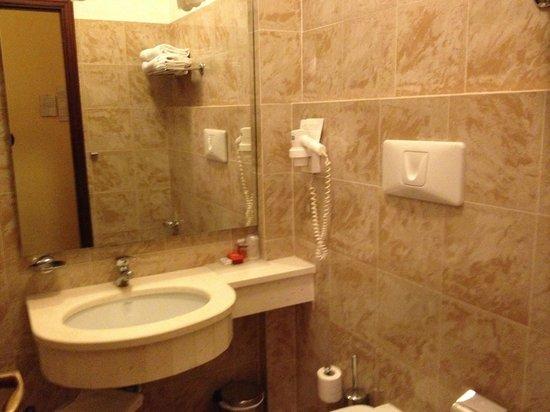 Hotel Umbria: il bagno