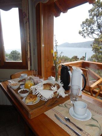 Bungalows Buena Vista : desayuno en la habitacion