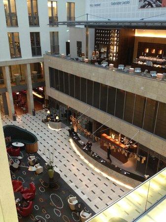 InterContinental Düsseldorf: Reception