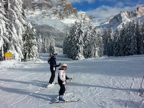 Hotel La Stua: Piste da sci