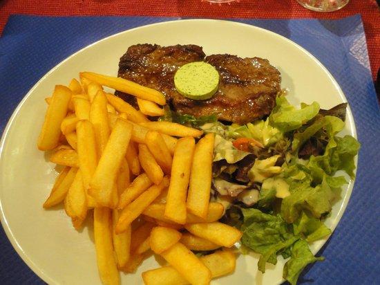 L'etape: Faux filet (menu)