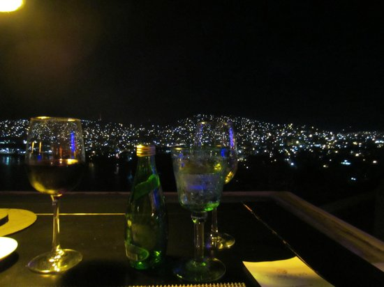 Tentaciones Restaurant : The view from our table