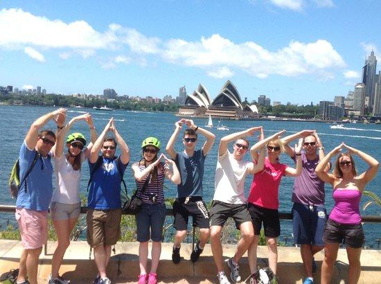 Bike Buffs - Sydney Bicycle Tours: Tour gang