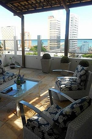 Hotel Casa de Praia: Cobertura