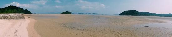 Suntisook Resort: low tide