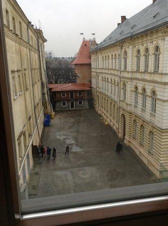 Leopolis Hotel: vista da janela