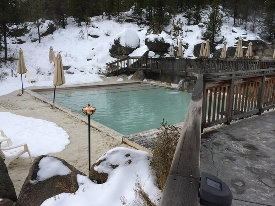 Gold Fork Hot Springs : Beautiful pools.