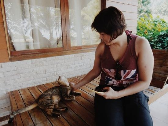 Suntisook Resort: the family cat came to say hello