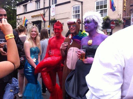 Gay Village: fancy dress