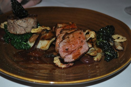 The Black Swan Hotel: lamb main course