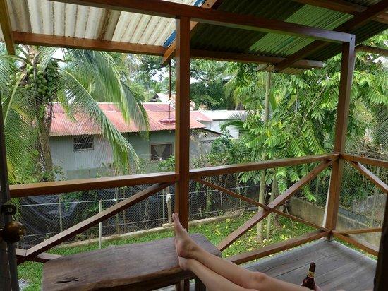 Hotel Pura Vida: Balcony off room #5