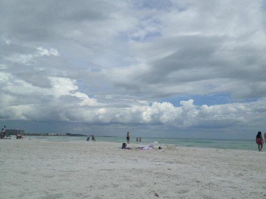 Siesta Beach: not crowded