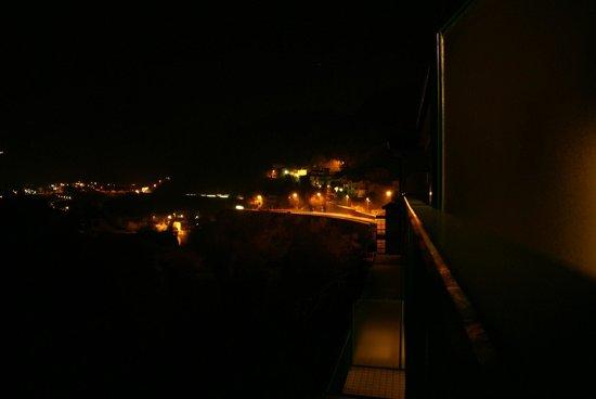 Hotel Ventolosa : Ночной вид из номера