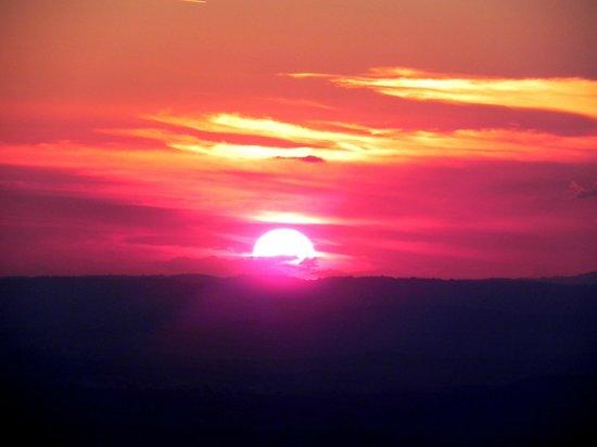 Casa da Piramide: O Põr do sol mais lindo que eu já vi!