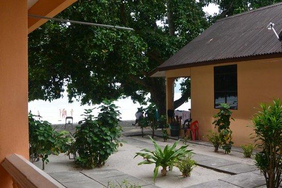 AB Motel: bungalow lato spiaggia