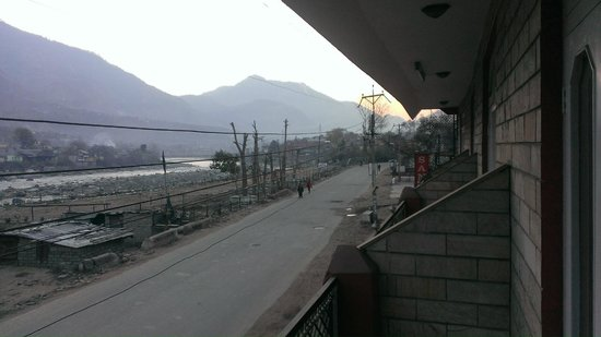 Hotel Sangam : View from hotel balcony