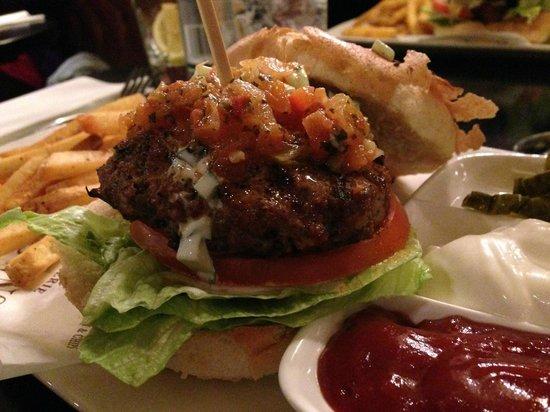 Browns Brasserie & Bar: Lamb Burger