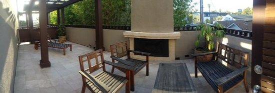 The Ambrose: Sweet balcony for enjoying the great LA weather!