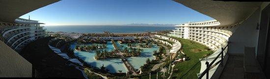 Maxx Royal Belek Golf Resort: Blick von der Terrasse