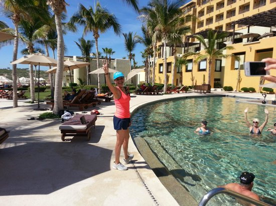 Marquis Los Cabos All-Inclusive Resort & Spa: Great instructor Carmen and great music