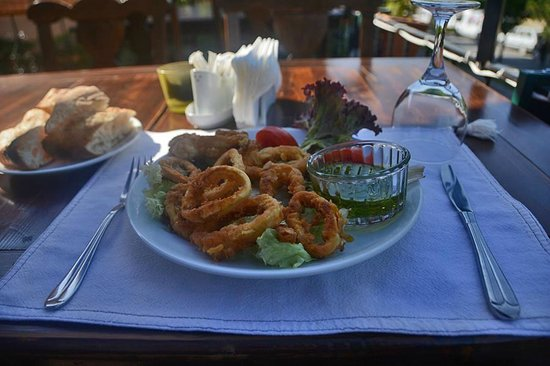 Barfiks Restaurant & Bar: Fried calamari
