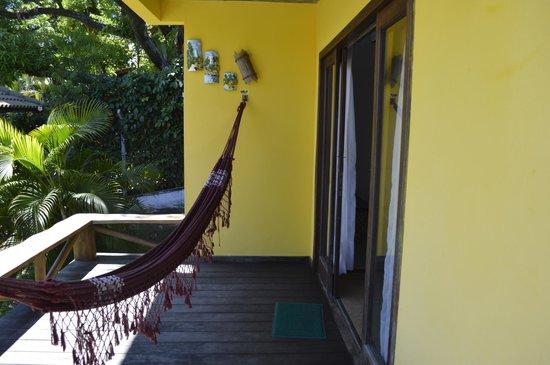 Areia Branca Apart Hotel: balcon