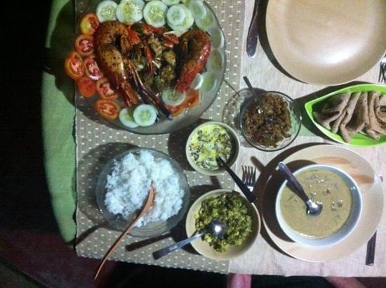 Dinner @ Marari Dreamz