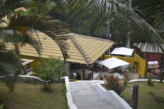 Areia Branca Apart Hotel: vista dela recepcion