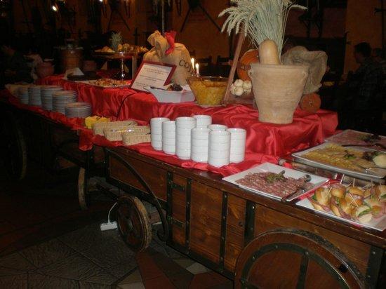 Hotel Kampa-Stara Zbrojnice : Plenty of choices