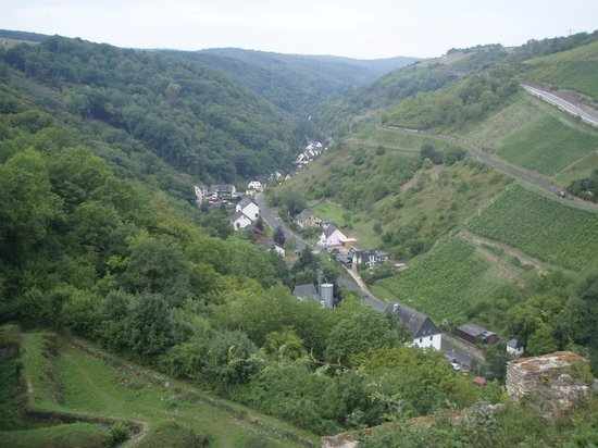 Schloss Rheinfels: Valley behind the castle