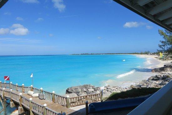 Club Med Columbus Isle: vue depuis le restaurant tardif (plongée)