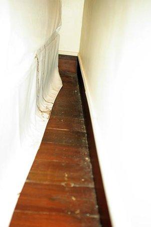 Century Langkawi Beach Resort: Stains found on bed sheet