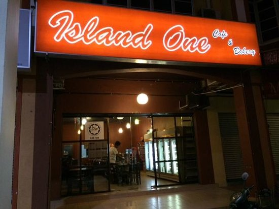 Island One Cafe & Bakery: Here it is!