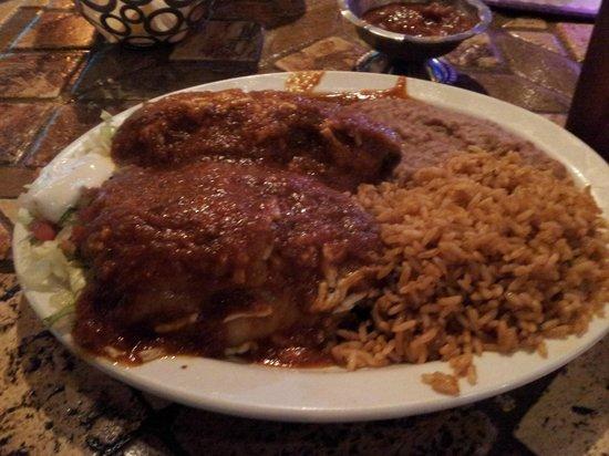 Mexico Bravo Cantina Bar & Grill: Chili Rellenos