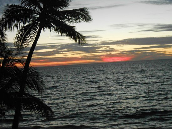 Sandies Tropical Village: View from room at Sunset