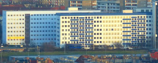 Generator Hostel Berlin Prenzlauer Berg: The Generator Hostel from the Fernsehturm!