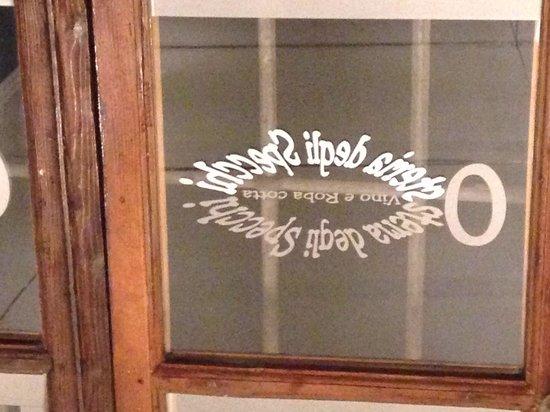 Osteria degli Specchi: Logo