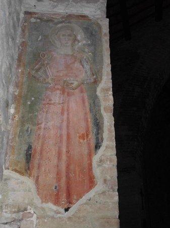 Tempio di Sant'Angelo - Chiesa di San Michele Arcangelo: Affresco