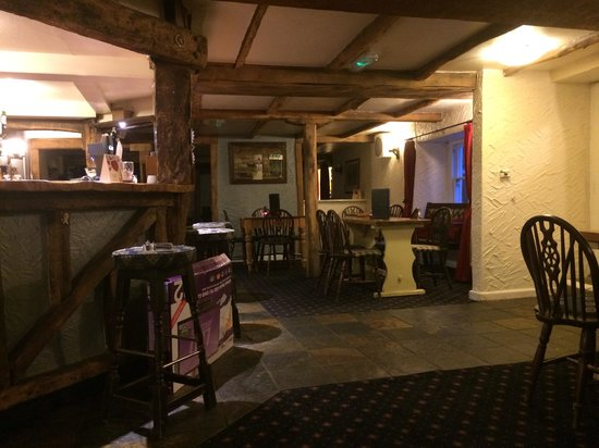 The Black Horse Inn: The bar