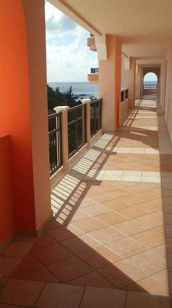El Cozumeleño Beach Resort: Outside hallway - 7th floor