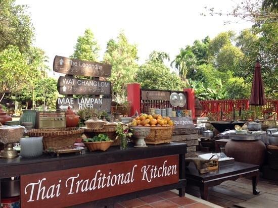 Legendha Sukhothai : all unique kitchen utensils hardly seen elsewhere