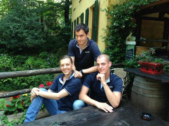 Grotto Cavicc: Il Team.