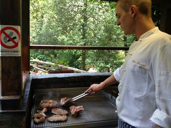 Grotto Cavicc : Lo Chef.