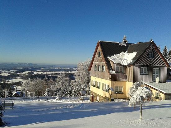 Pension Panorama: beatiful winter view