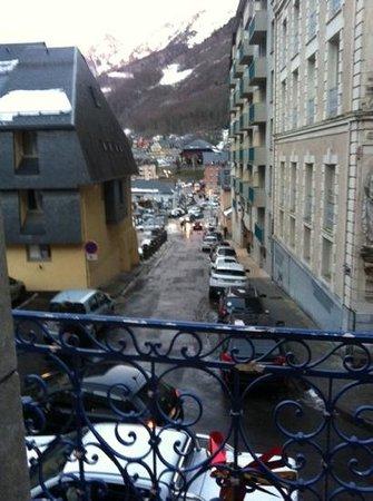 Asterides Sacca Hotel : vue de notre chambre....