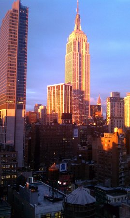 Holiday Inn NYC - Manhattan 6th Avenue - Chelsea: View from the room