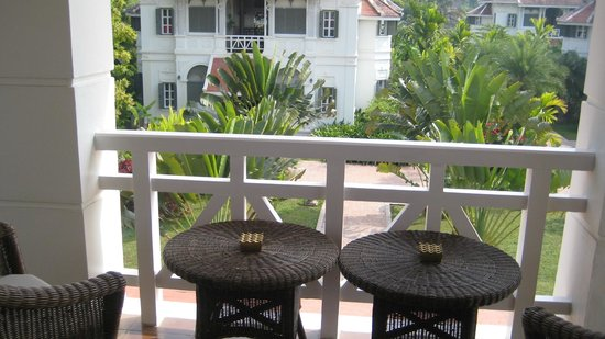 The Luang Say Residence: from our balcony