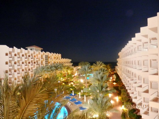 Sea Star Beau Rivage : View from the main building at the 4th floor