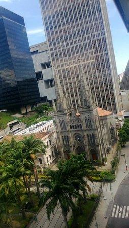 Hotel ibis budget Rio de Janeiro Centro: vista da janela